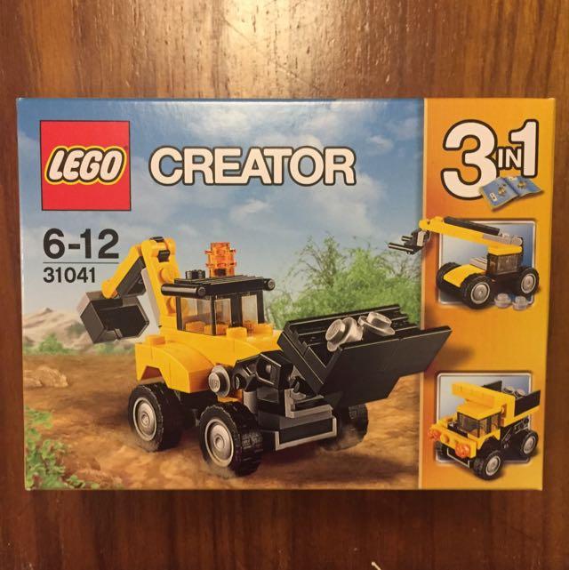 保留~LEGO樂高積木挖土機