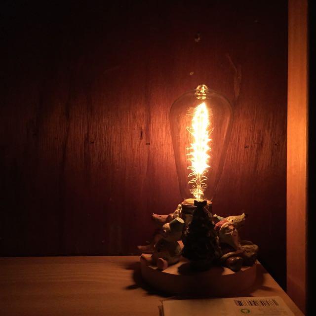 小夜燈 愛因斯坦燈泡