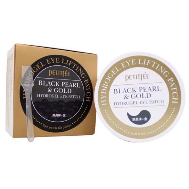 韓國 Petitfee黑珍珠黃金雙效拉提眼膜