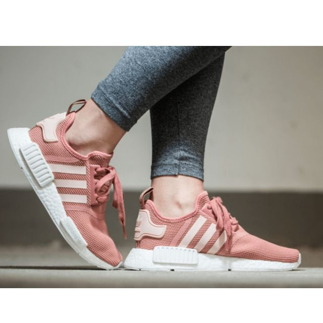 on sale f1b53 e4645 Adidas NMD R1 Raw Pink Womens (Salmon Pink), Women s Fashion on ...