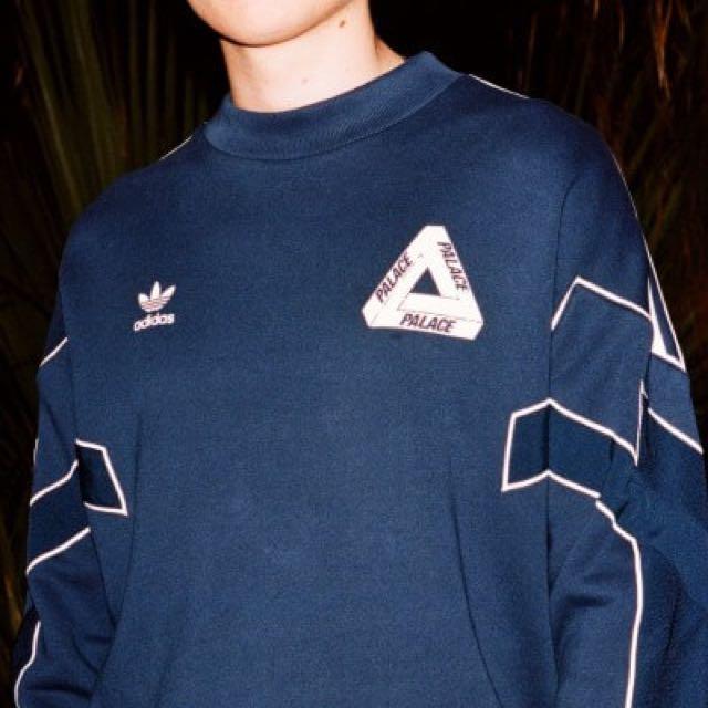b9be0b77e722 Adidas X Palace TT Crew Night Indigo S