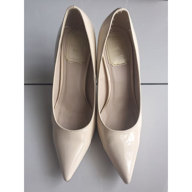 Beige Working Heels
