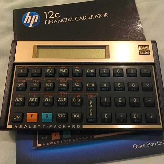 Brand New HP 12C Financial Calculator