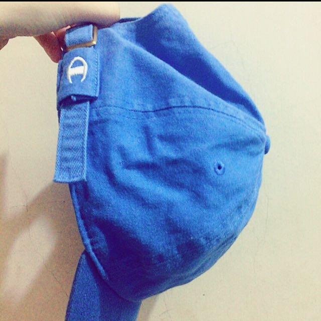 Champion 水藍色老帽