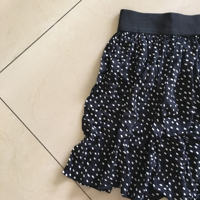 Cotton On - Black And White Skirt