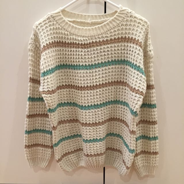 Cream Colour Knit Wear