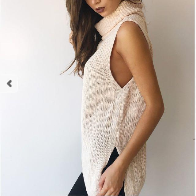 Cream Knit S/M