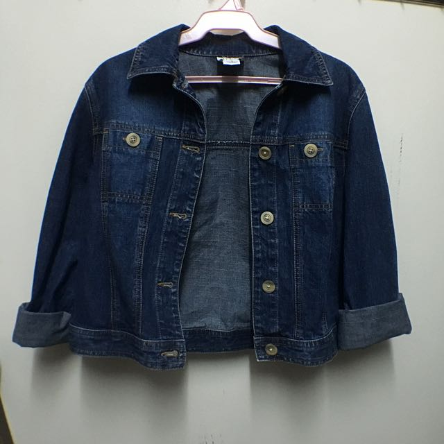 Denim Long Sleeve Jacket