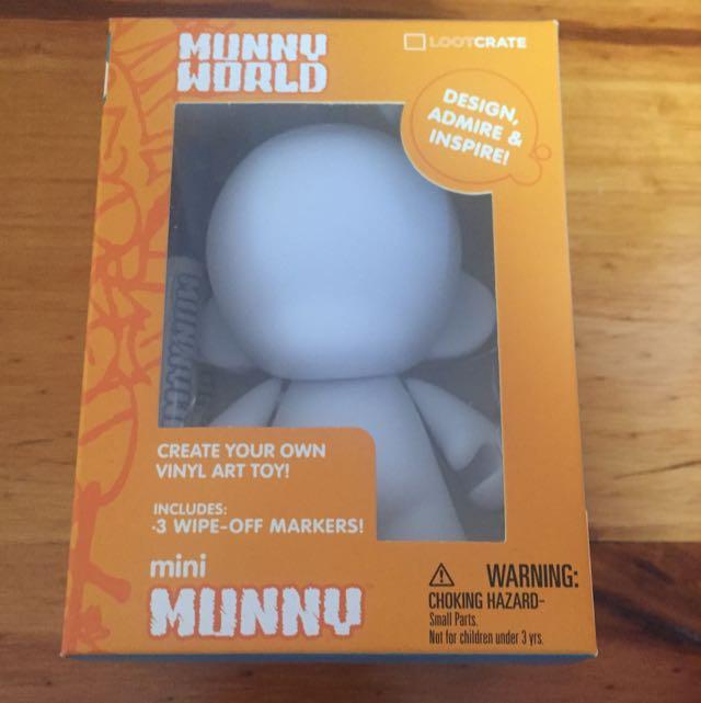DIY Mini Munny Toy