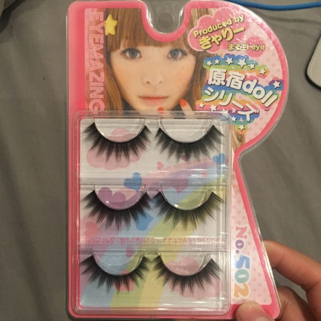 Fake eyelashes from Japan