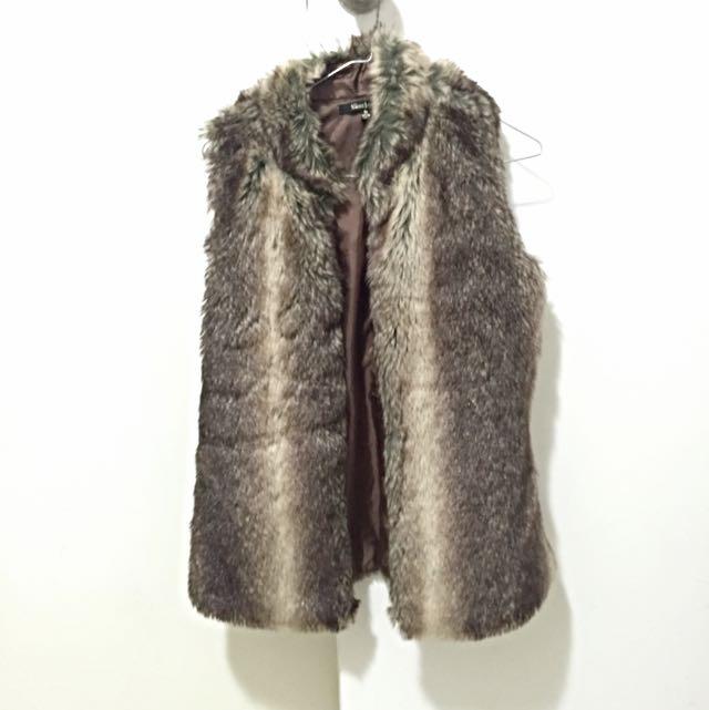 Faux Fur Vest/Gillet