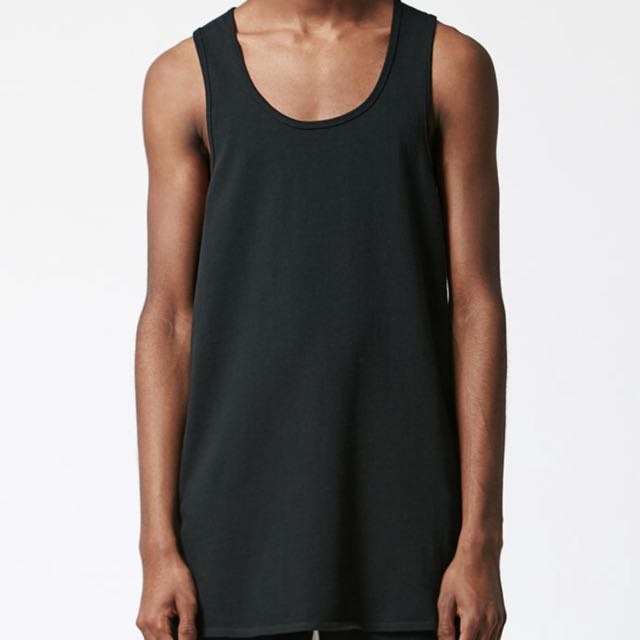 df2936c1364c6e Reserved)Fear Of God X Pacsun Black Tank Top