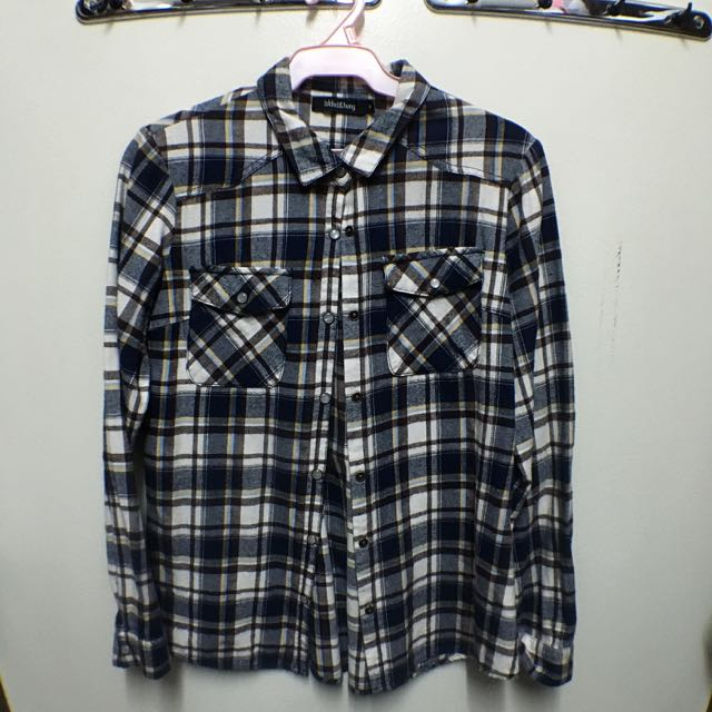 Folded & Hung Plaid Shirt