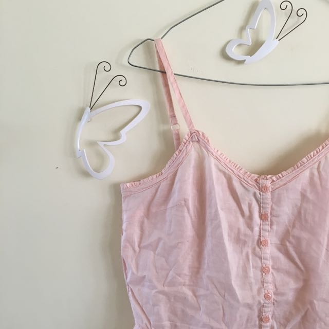 Forever 21 - Soft Pink Petite Top