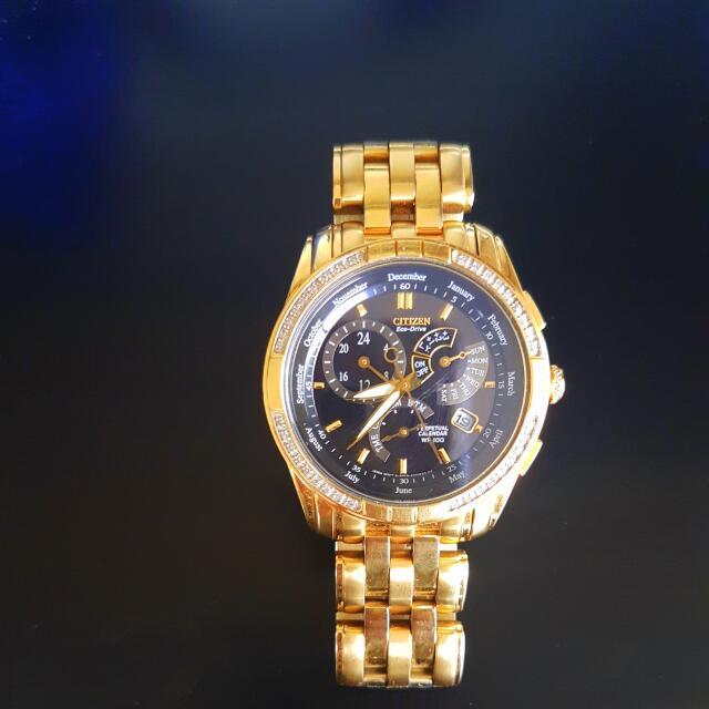 Genuine CITIZEN ECO DRIVE RRP $1250.00 BL8043-51E Diamond Gents Watch 30250007