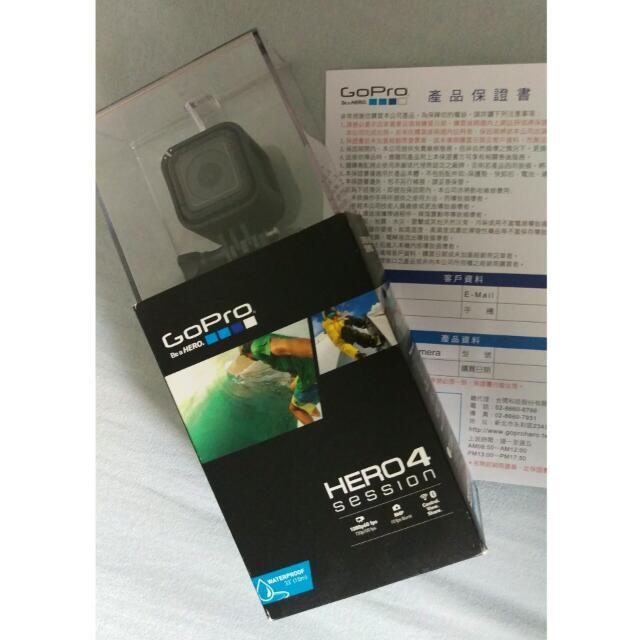 GoPro HERO4 Session(公司貨)