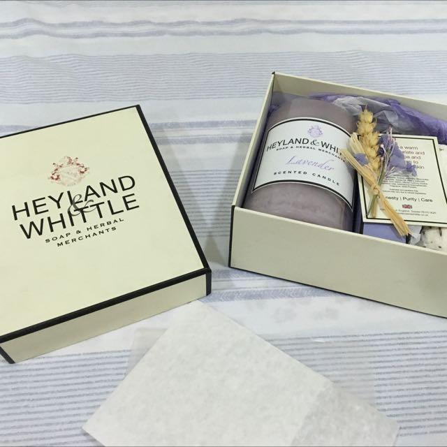 Heyland & whittle英倫薰衣草香氛禮盒