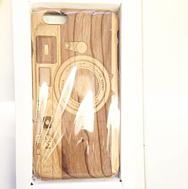 iPhone 6 Plus Wooden Case( Open For Negotiate)