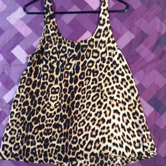 M Cotton On Leopard Top