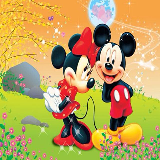 Mickey Minnie Mouse Photobooth Backdrop Design Craft On Carousell
