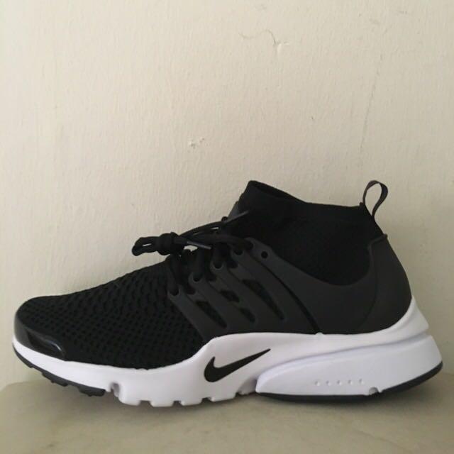 3412b2e512da Nike Presto Ultra Flyknit (Black)