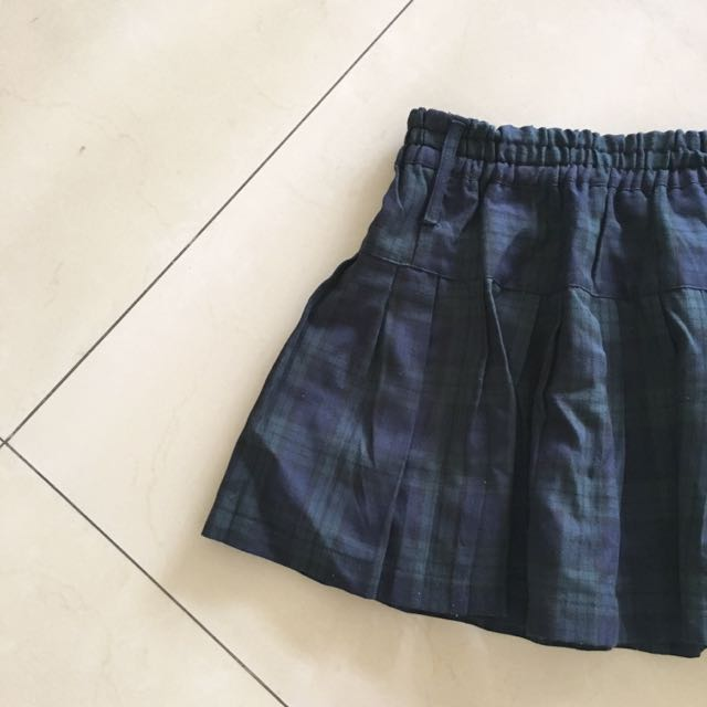 Plaid School Girl Mini Skirt