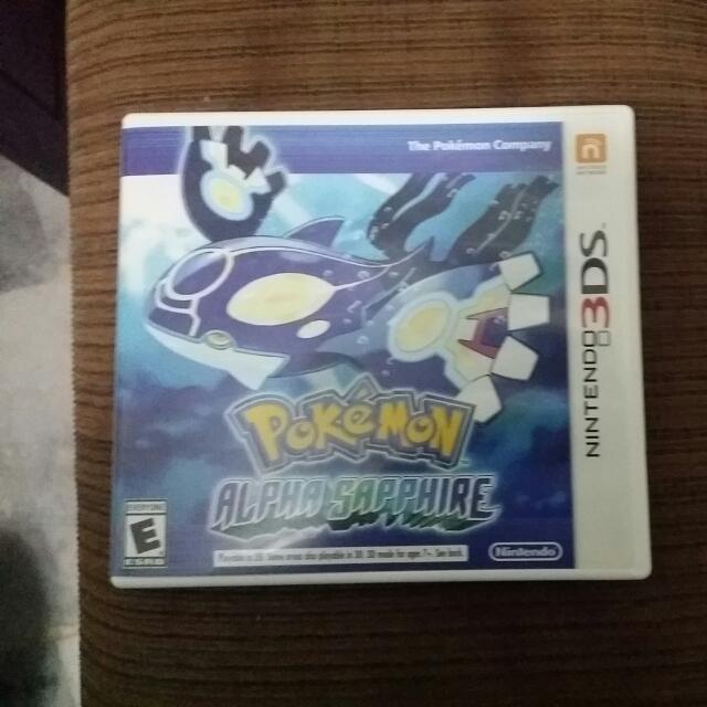 Pokemon Alpha Sapphire(RESERVED)
