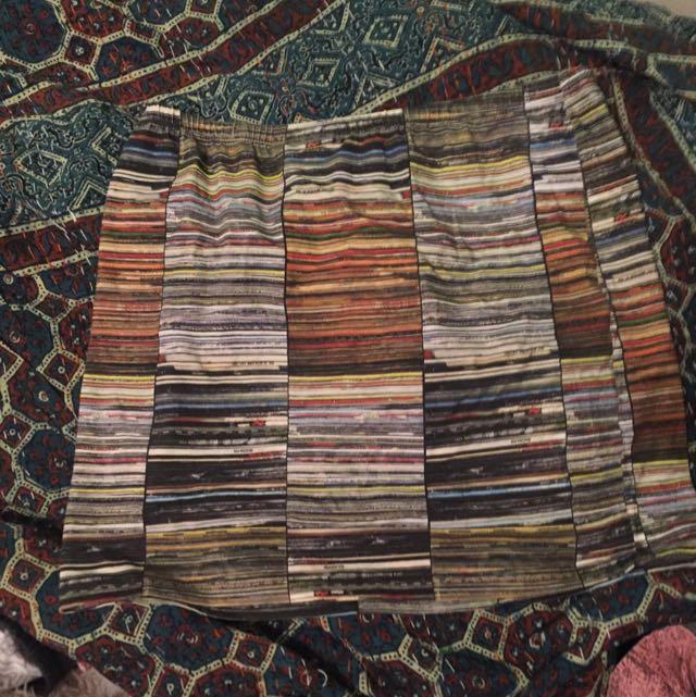 Pulp Kitchen Record Skirt