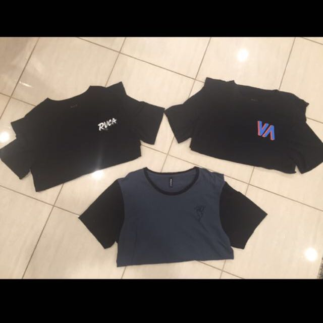 RVCA Tee's Size Large