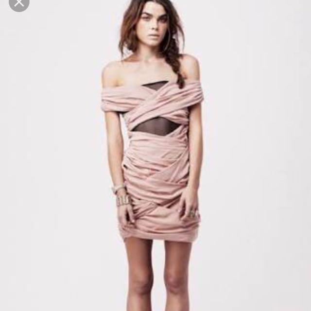 Shakuhachi Bandage Dress
