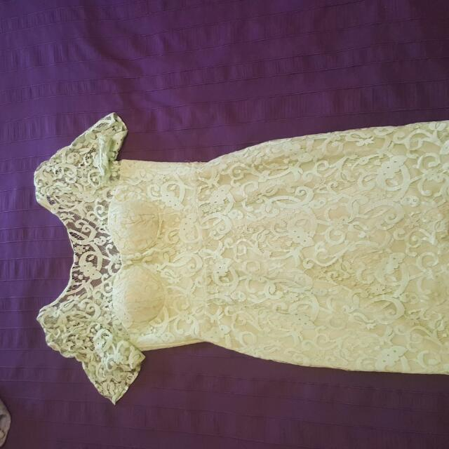 Sheike Lace Dress - Size 12