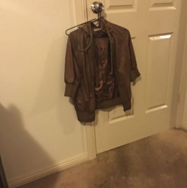 Size 12 Brown Jacket