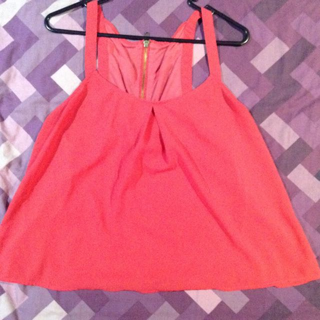 Size 12 Pink Top