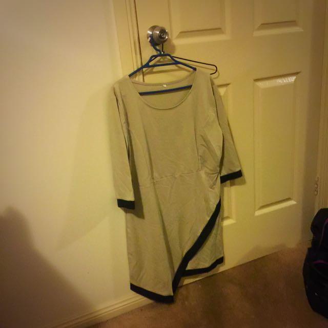 Size M/L Beige Dress