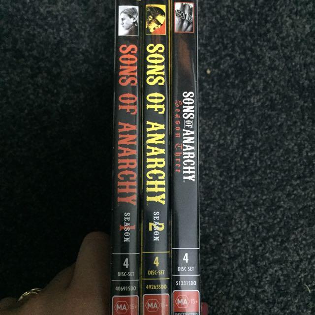 Sons Of Anarchy Season 1-3
