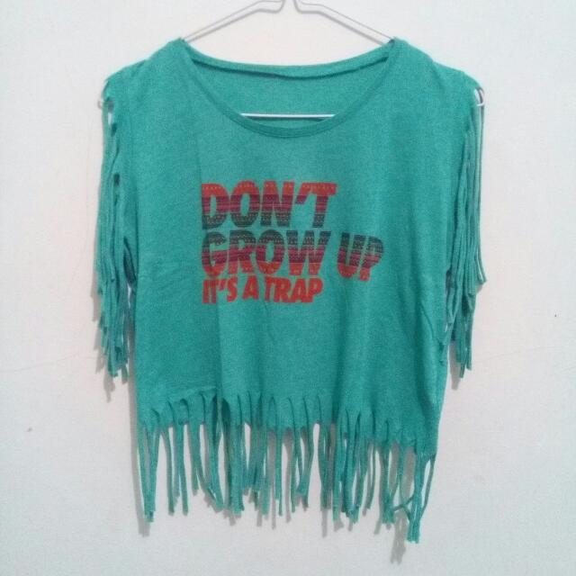 Vintage Crop Top -by Typo Error