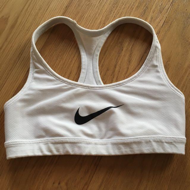 White Nike Reversible Crop (pending)