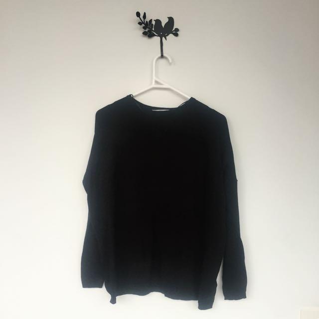 ZARA Black Knit