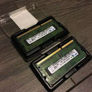 2x 2GB Samsung MacBook Ram
