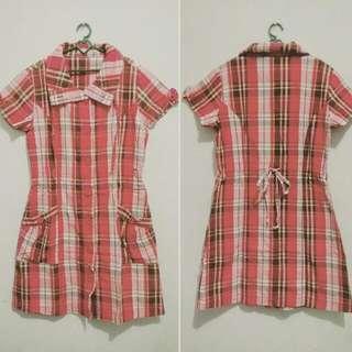Tartan Dress by Exit