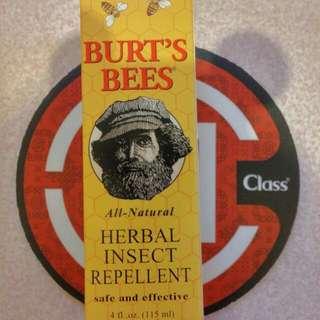 Burt's Bees 蜜蜂爺爺👴有機檸檬草防蚊液 👍👍夏季必備