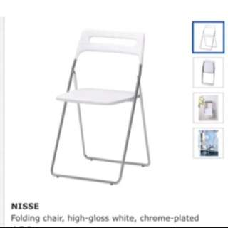 IKEA Folding Chairs X2