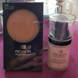 REVLON PHOTOREADY Pressed Powder And Perfecting PRIMER