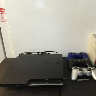 PlayStation 3 With Controllers & Games