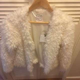 LYLA & CO Fluffy Jacket