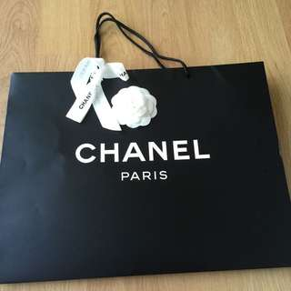 Big Chanel Paper Bag