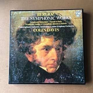 Berlioz The Symphonic Works, London Symphony Orchestra Colin Davis