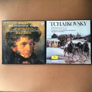 Berlioz The Symphonic Works & Tchaikovsky Cassette Sets