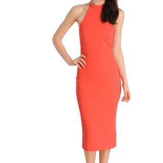 BNWT. Coral Cooper St Heart Beat dress