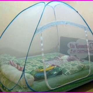 Kelambu Nyamuk Modern/kelambu Lipat Merk Golden Bed Canopy (Size 180 X 200 1pintu)